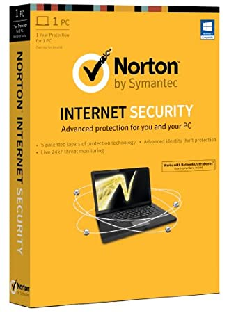 Norton Internet Security 2013 - 1 Computer, 1 Year Subscription (PC)