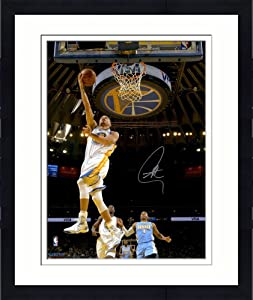 Framed Stephen Curry Golden State Warriors Autographed 16