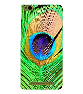 EPICCASE Peacock feathers Mobile Back Case Cover For Xiaomi 3S Prime (Designer Case)