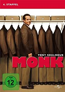 Monk - 4. Staffel [4 DVDs]