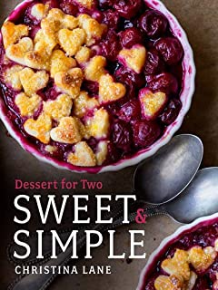Book Cover: Sweet & Simple: Desserts for Two