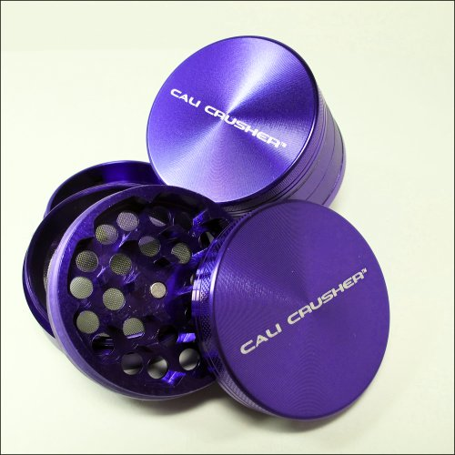 Cali Crusher 4 piece herb grinder Purple (CC-6-P)