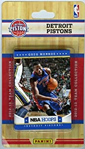 2012 2013 Panini Hoops NBA Basketball Detroit Pistons Factory Sealed Complete Team... by Panini