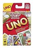 Mattel 54480 - UNO Junior Winnie Puuh, Kartenspiel