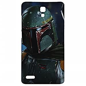 Lorem Boba Fett (Star Wars) Matte Back Cover For Xiaomi Mi Note 4G