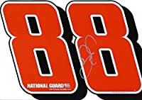 AUTOGRAPHED 2012 Dale Earnhardt Jr. #88 National Guard Racing (Hendrick) Signed NASCAR Hero Card with COA