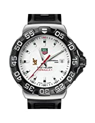 Lehigh University TAG Heuer Watch - Men's Formula 1 Watch with Rubber Strap