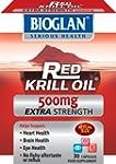 Bioglan 500mg Red Krill Oil Capsules...