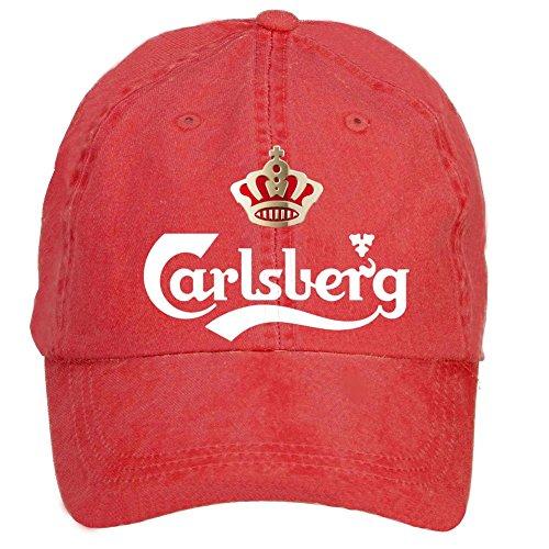 gaojidian-carlsberg-logo-cotton-six-panel-till-baseball-cap-hats-unisex
