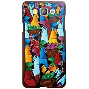 Design Worlds Samsung Galaxy Grand Max SM-G7200 Back Cover Designer Case and Covers