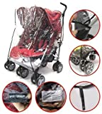 Baby Travel - Cubierta impermeable para carrito doble (universal)