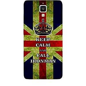 Skin4gadgets Keep Calm and CALL IRONMAN - Colour - UK Flag Phone Skin for XIAOMI REDMI 1