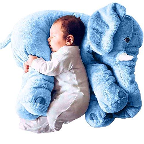 Super-Soft-Cute-Big-Stuffed-Elephant-Plush-Doll-Pillows-Baby-Elephants-Toys