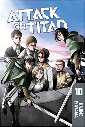 Attack on Titan 10 written by Hajime Isayama