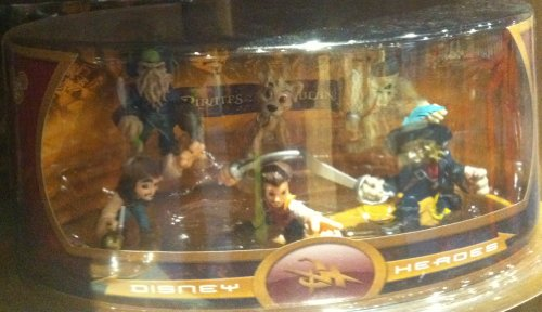 51rD9sMtBlL Buy  Disney Heroes Pirates of the Caribbean Mini Figurine Set (Disney Theme Parks Exclusive)