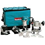 Makita RT0701CX3 1-1/4 HP Compact Router Kit (Color: Teal)