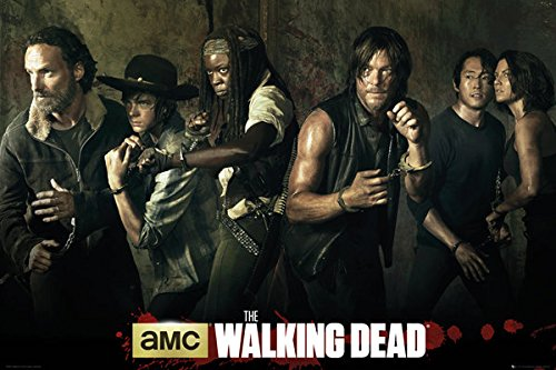 "The Walking Dead - TV Show Poster / Print (The Season 5 Cast) (Size: 36"" x 24"")"