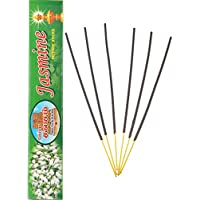Gopura Kalasam Charcoal Powder Jasmine Incense Sticks (24 Cm, Black, Pack Of 10)