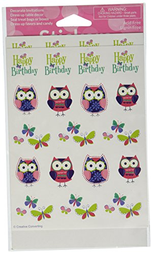 Owl Pal Stickers, Value - 1