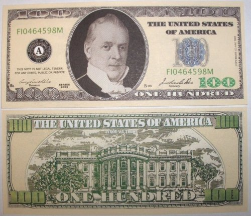 Set of 10 Bills-One Hundred Dollar Bill - 1