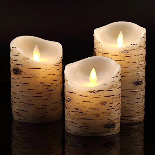 antizer-senza-fiamma-candele-con-effetto-brich-4-5-6-set-di-3-antigoccia-vera-cera-pilastri-include-