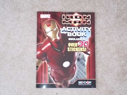 Iron Man Activity Book With Over 30 Stickers