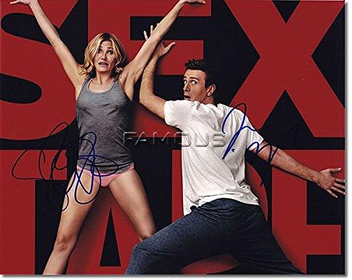セックス・テープ (キャメロン・ディアスジェイソン・シーゲル/キャメロン・ディアス) 直筆サイン入り写真