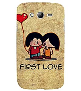 PrintVisa First Romantic Love 3D Hard Polycarbonate Designer Back Case Cover for Samsung Galaxy Grand Neo