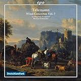 Telemann: Wind Concertos Volume 7 (CPO: 999907-2)