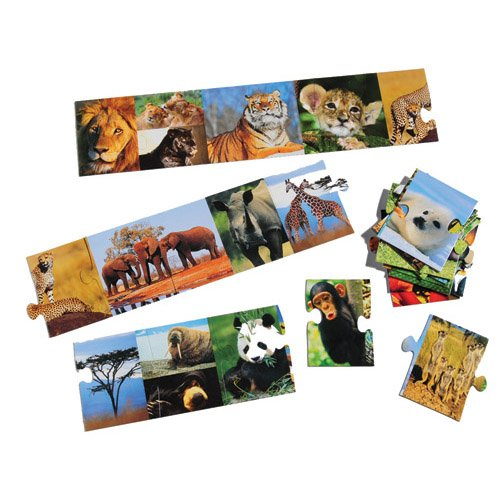 Cheap Constructive Playthings Zoo Animals Floor Puzzle (B003Y7C7HU)