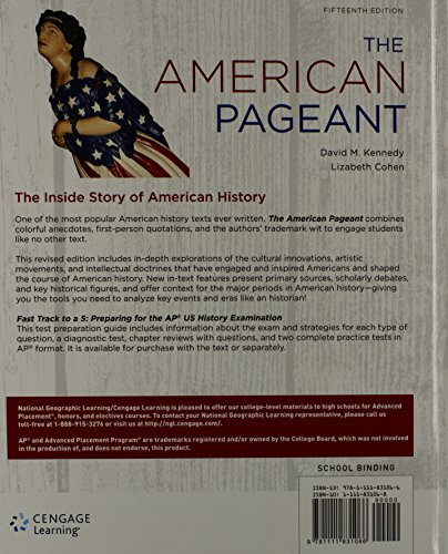 u s history i american pagent chapter Will cause your brain to grow wise ap review questions for chapter 9 american pageant answers chapter 9 for ap us history and the alignment of the.