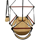 Are you looking for a camping adventure or beachside experience? Ancheer hanging hammock chair can help you achieve it. It's lightweight and portable so that you can take it anywhere, hanging from a tree branch or other sturdy object and then...