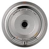 Olympus BCL-1580 15mm f/8.0 Body Cap Lens - Silver 並行輸入品