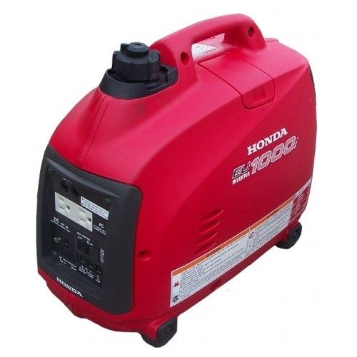 Honda Eu1000 (Eu1000I) Inverter Generator - The Honda Eu1000I Has A Maximum Of 1000 Watts/8.3 Amps @ 120V. It Is Super Quiet, 53-59 Dba And Weighs Less Than 29 Lbs! It Is Fuel Efficient With A Run Time Of Up To 8.3 Hours On 0.6 Gallons Of Fuel. It Feature