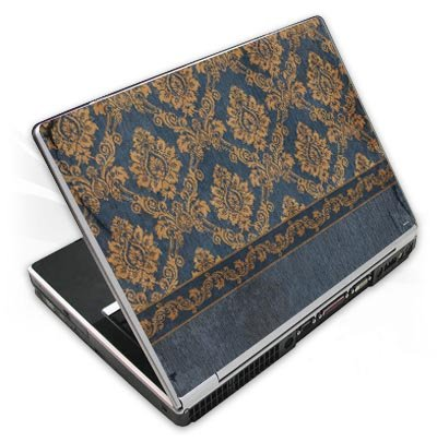 Design Skins für TOSHIBA Satellite L670D-11T - Blue Barock Design Folie