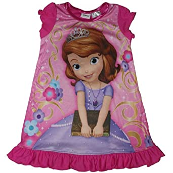 Amazon.com: Disney Sofia the First Little Girls Nightgown