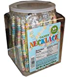 CANDY NECKLACE 36 count Tub