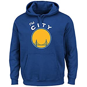 Golden State Warriors NBA Hardwood Classics Pullover Hoodie Fleece