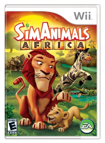 SimAnimals Africa - Nintendo Wii (Animal Games For Wii compare prices)