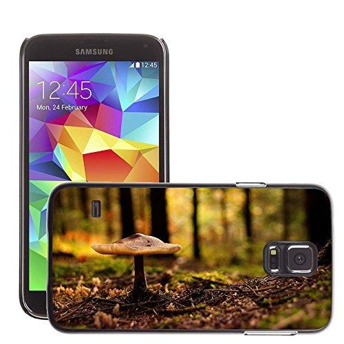 Schwarz Hart Schutz Schale Case // M00050000 aero macro forest mushroom // Samsung Galaxy S5 i9600