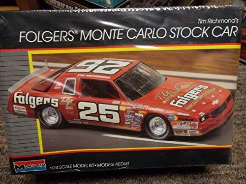 tim-richards-folgers-monte-carlo-stock-car-1-24-scale-model-plastic-kit-by-monogram