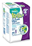 Pampers Kandoo Sensitive Flushable Wipes Value Pack, 250 Count (Pack of 4)