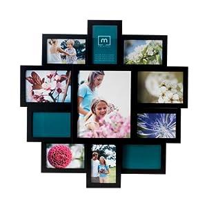 Amazon.com - Melannco 11-Opening Collage Frame (Black ...