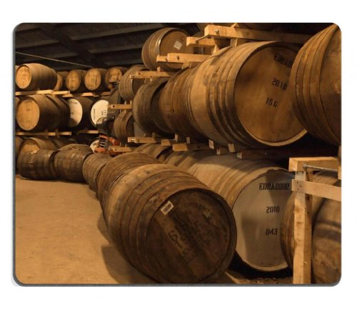 Wooden Wine Barrels Cellar Basement Mouse Pads Customized Made To Order Support Ready 9 7/8 Inch (250Mm) X 7 7/8 Inch (200Mm) X 1/16 Inch (2Mm) High Quality Eco Friendly Cloth With Neoprene Rubber Msd Mouse Pad Desktop Mousepad Laptop Mousepads Comfortabl front-137584