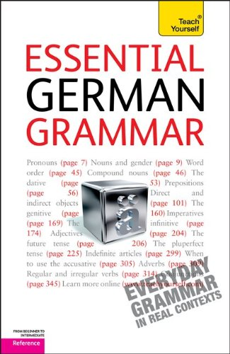 Essential German Grammar: A Teach Yourself Guide (Teach Yourself: Reference)