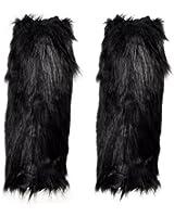 Leegoal Show Girl Chic Tall Fur Leg Warmers