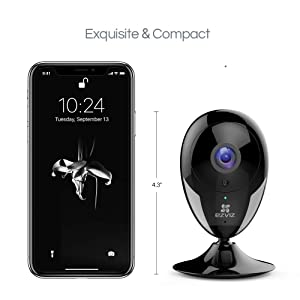 EZVIZ Indoor Wi-Fi Security Camera IPC Works with Alexa