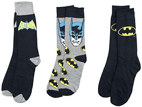 Batman Logo Sock Set In Tin Triple Pack