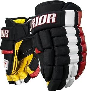 Warrior Senior Bonafide Hockey Glove, Black, 14-Inch by Warrior