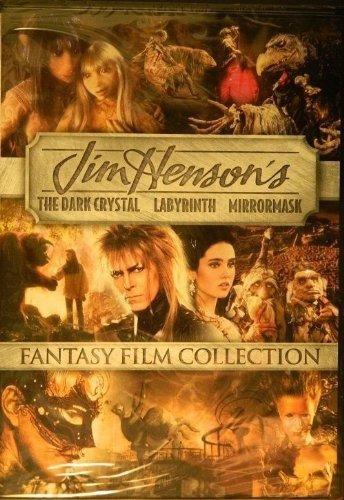 DVD : Dark Crystal / Labyrinth / Mirrormask (2 Pack, 2 Disc)